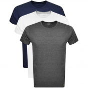 Lyle And Scott Three Lounge Pack T Shirts Navy