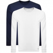 Lyle And Scott 2 Pack Lounge Long Sleeve T Shirts