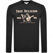 True Religion Chad Core Sweatshirt Black