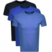Ralph Lauren 3 Pack Crew Neck T Shirts Navy