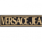 Versace Jeans Couture Logo Scarf Black