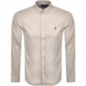 Ralph Lauren Chino Long Sleeved Shirt Grey