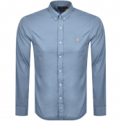 Ralph Lauren Chino Long Sleeved Shirt Blue