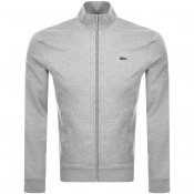 Lacoste Sport Zip Up Sweatshirt Grey