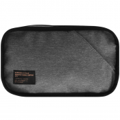 Superdry Detroit Logo Washbag Grey