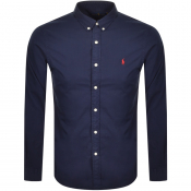 Ralph Lauren Chino Long Sleeved Shirt Navy