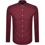 Ralph Lauren Oxford Long Sleeved Shirt Red