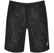adidas Originals Monogram Shorts Brown