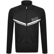 BOSS Bodywear Lounge Full Zip Sweatshirt Black