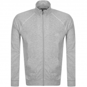 BOSS Bodywear Lounge Full Zip Sweatshirt Grey