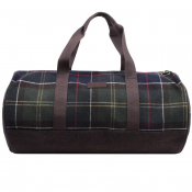 Barbour Check Hardwick Bag Brown