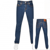 True Religion Ricky No Flap Jeans Blue