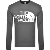 The North Face Standard Crew Neck Sweatshirt Grey