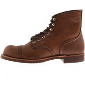 Red Wing 6 Inch Iron Ranger Boots Brown