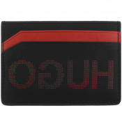 HUGO Record Card Holder Black
