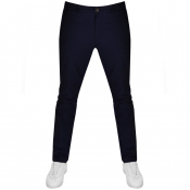 Lyle And Scott Skinny Fit Chino Trousers Navy