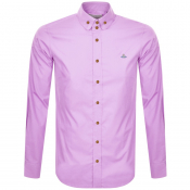 Vivienne Westwood Krall Long Sleeved Shirt Pink