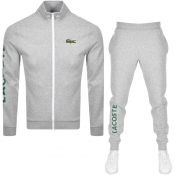 Lacoste Sport Tracksuit Grey