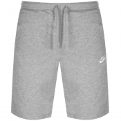 Nike Club Logo Shorts Grey