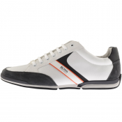 BOSS Saturn Lowp Trainers White