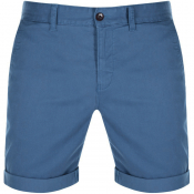 Tommy Jeans Essential Chino Shorts Blue