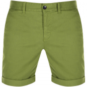 Tommy Jeans Essential Chino Shorts Green
