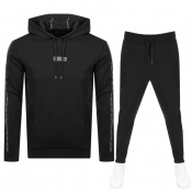 Product Image for HUGO Hooded Tracksuit Black