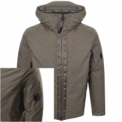 Product Image for CP Company Hooded Jacket Green