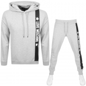 Product Image for Love Moschino Logo Tracksuit Grey