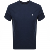 Jack Wills Sandleford Short Sleeved T Shirt Navy