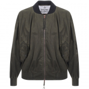 Product Image for Vivienne Westwood Wilma Bomber Jacket Green