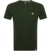 Pretty Green Crew Neck T Shirt Green