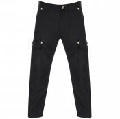 Product Image for Versace Jeans Couture Relaxed Trousers Black