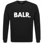 BALR Brand Crew Neck Sweatshirt Black