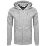 BALR Q Series Full Zip Hoodie Grey