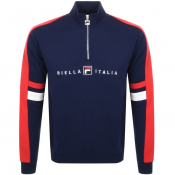 Product Image for Fila Vintage Romolo Sweatshirt Navy