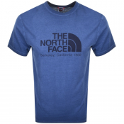 The North Face Washed Berkeley T Shirt Blue