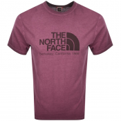 Product Image for The North Face Washed Berkeley T Shirt Purple