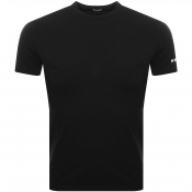 DSQUARED2 Crew Neck Logo T Shirt Black