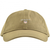 Product Image for Gant Logo Twill Cap Green