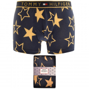 Tommy Hilfiger Golden Stars Logo Trunks Navy