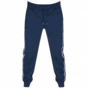 Tommy Hilfiger Lounge Logo Jogging Bottoms Navy