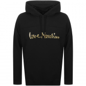 Product Image for Love Moschino Logo Hoodie Black