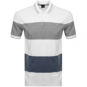 BOSS HUGO BOSS Parlay 54 Polo T Shirt White