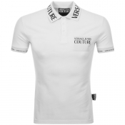 Product Image for Versace Jeans Couture Polo T Shirt White
