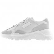Product Image for Versace Jeans Couture Logo Trainers White