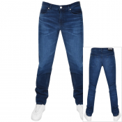 Product Image for HUGO 708 Hugo Slim Fit Jeans Navy