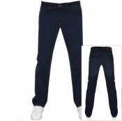 Product Image for Pretty Green Burnage Regular Fit Jeans Blue