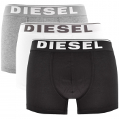 Product Image for Diesel Underwear Damien 3 Pack Boxer Shorts Black