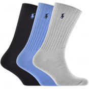 Product Image for Ralph Lauren 3 Pack Socks Navy